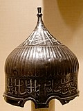 Turban helmet of a sultan
