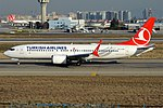 Turkish Airlines, TC-LCE, Boeing 737-8 MAX (47585341802).jpg