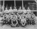 Twenty five Indians from the Carlisle Indian College, Pennsylvania, are learning to build ships in the greatest shipyard - NARA - 533744.tif