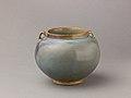 Two-eared jar, Jun ware MET SLP1663-1.jpg