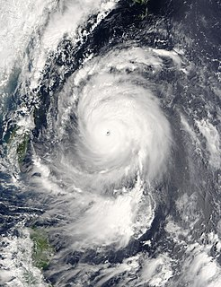 Typhoon Maemi Pacific typhoon in 2003
