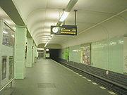 U-Bahn Berlin Leinestraße