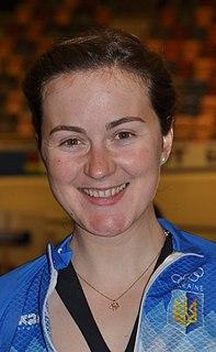 Hanna Solovey Ukrainian racing cyclist