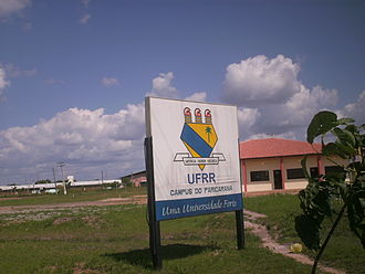 Roraima - Federal University of Roraima.