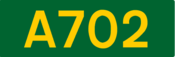 A702 road shield