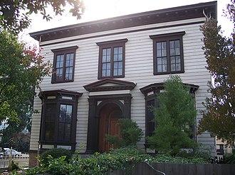 Thomas Fallon - Thomas Fallon House (1855) in San Jose, California