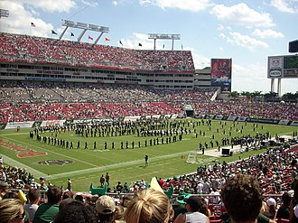2017 College Football Playoff National Championship - The 2017 College Football Playoff National Championship was played at Raymond James Stadium.