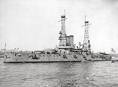 USS Alabama in 1912