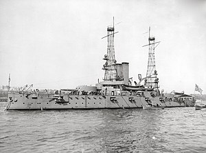 USS Alabama (BB-8) - Alabama in 1912
