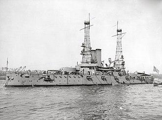 USS Alabama (BB-8) - Alabama in 1912