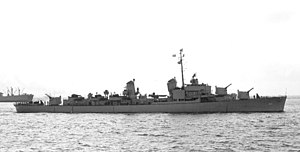 USS Damato (DD-871) - Damato in 1946.