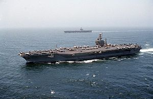 USS Dwight D Eisenhower CVN-69 on Indian Ocean.jpg