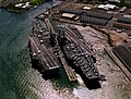 USS Independence (CV-62) and Kitty Hawk (CV-63) at Pearl Harbor 1998.JPEG