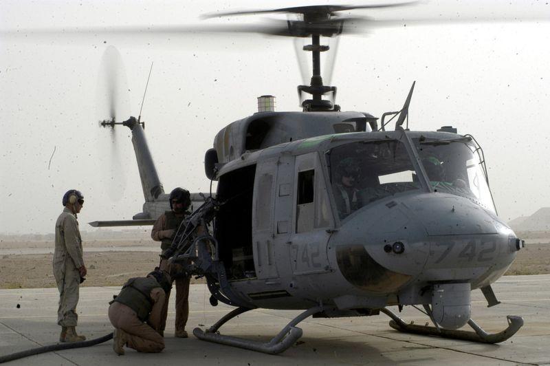 File:US Marine Corps UH-1N Huey helicopter.jpg