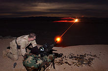 US Navy 040106-N-3953L-262 Naval special warfare members test the capabilities of a new night vision target system.jpg