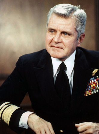 James Stockdale - Stockdale as president of the Naval War College in 1979
