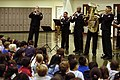 US Navy 060120-N-1194D-004 The Seventh Fleet Band plays a Dixieland jazz medley during a rousing concert for the children of Sasebo Elementary School.jpg