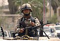 US Navy 060820-N-7590D-215 U.S. Army soldiers assigned to the 506th Regimental Combat Team, 101st Airborne Division assist the 6th Iraqi Army Division and Iraqi Police to secure the streets for Iraqi citizens.jpg