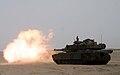 US Navy 070427-M-2740R-162 An M-1A1 Abrams Main Battle Tank from Tank Platoon, Battalion Landing Team 2-2, 26th Marine Expeditionary Unit.jpg