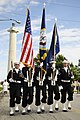 US Navy 110910-N-WP746-275 The color guard assigned to USS Lake Erie (CG 70) leads the parade group near the Perry's Victory and International Peac.jpg