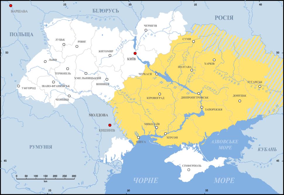 Ukraine-Dyke Pole