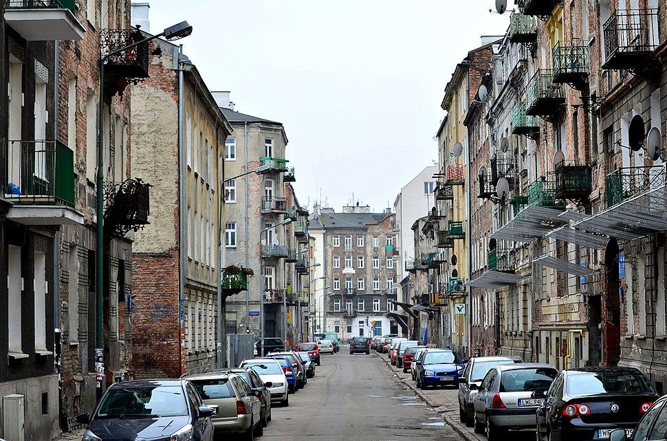 Ulica Mała w Warszawie 2015