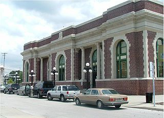 Tampa Union Station main railway station in Tampa, Florida, United States