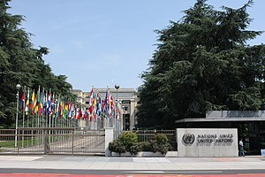 United Nations Research Institute For Social Development - UNRISD is located at the  United Nations Office at Geneva