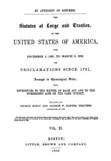 United States Statutes at Large Volume 11.djvu