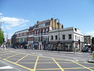Upper Street street in Islington, London