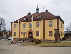 Uppvidinge Municipal Hall in Åseda