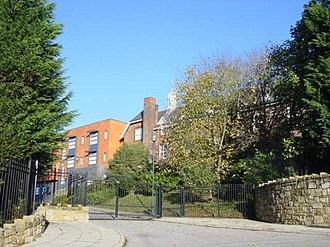 Upton, Merseyside - Upton Hall School.