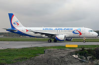 VQ-BDM - A320 - Ural Airlines