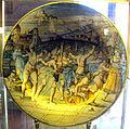 Urbino (o dintorni), piatto con strage innocenti (da marcantonio raimondi), 1566.JPG