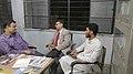Urdu Wikipedians meet up at Iqbal Academy, Hyderabad.jpg