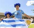 Uruguay - Costa Rica FIFA World Cup 2013 (2014-06-14; fans) 12.jpg