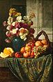 V. Sverchkov. Flowers and fruits (1885, Tretiakov Gallery).jpg
