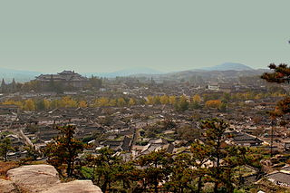 Kaesong Municipal City with special status in North Hwanghae Province, North Korea