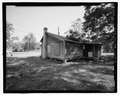 VIEW OF SIDE-REAR LOOKING SOUTHEAST - 815 Long Bewick Street (House), Waycross, Ware County, GA HABS GA-2228-5.tif
