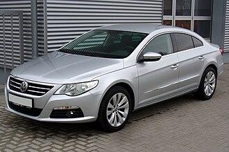 Volkswagen CC - Image: VW Passat CC 2.0 TDI DSG Reflexsilber
