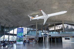 "Valencia Airport - Interior of ""Regional Terminal"""