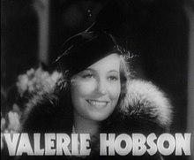 瓦莱丽·霍布森