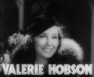 Valerie Hobson in Bride of Frankenstein film trailer.jpg