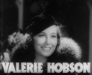 Valerie Hobson - from the trailer for Bride of Frankenstein