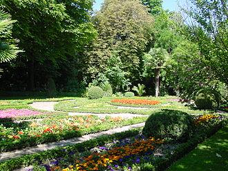 Campo Grande (Valladolid) - Image: Valladolid Campo Grande jardines lou
