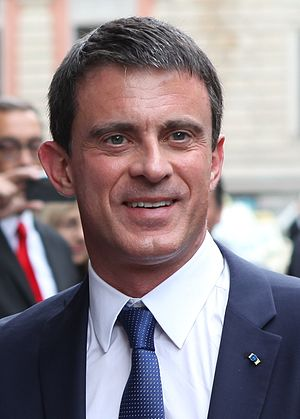 French presidential election, 2022 - Image: Valls Schaefer Munich Economic Summit 2015 (cropped)