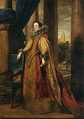 Portrait d'une noble génoise