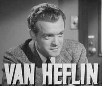 Grand Central Murder - Image: Van Heflin in Grand Central Murder trailer