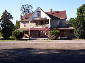 Niverville, New York - Image: Van Hoesen House, Niverville, NY