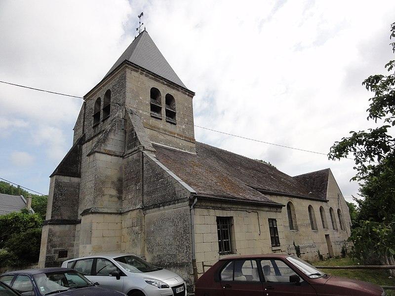 Vauxbuin (Aisne) église